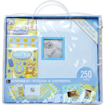 K&Company Baby Boy Scrapbook Kit