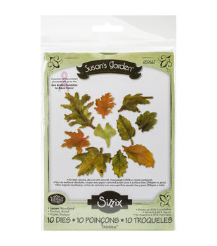 Sizzix Thinlits Woodland Leaves Dies