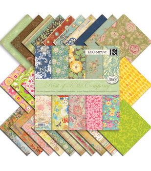 K &Company Best Of K Paper Pad 12''x12''