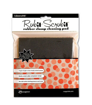 Inkssentials 6'' Rub-It Scrub-It Rubber Stamp Cleaning Pad