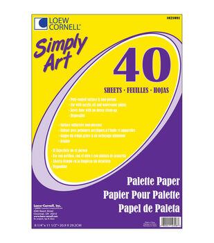 Simply Art 8-1/4''x11-1/2''Palette Paper Pad