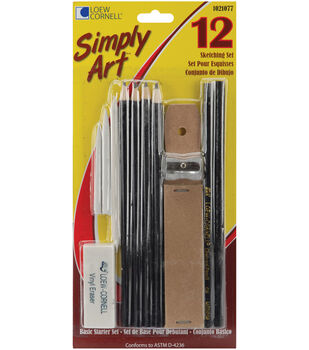 Simply Art Sketching Set-12 Pieces