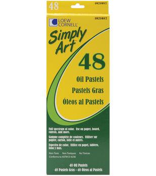Simply Art Oil Pastels 48Pk