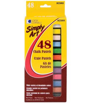 Simply Art Chalk Pastels 48Pk