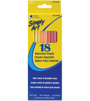 Simply Art Watercolor Pencils-18PK