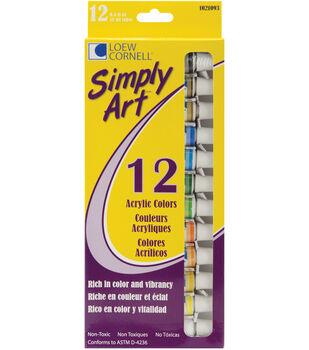 Simply Art Acrylic Paint Set .4floz 12Pk