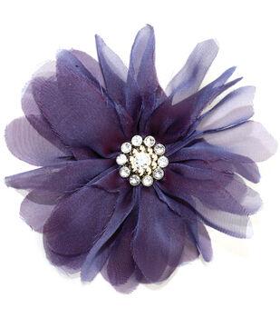 Laliberi Quick Clip Flowers 1/Pkg-Bloom Purple