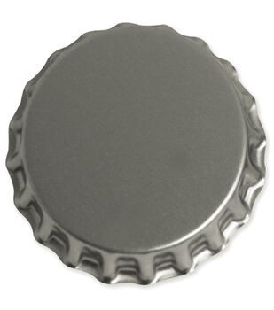 "Vintage Collection Jumbo Bottle Cap 1-3/4"" 1/Pk-Chrome"