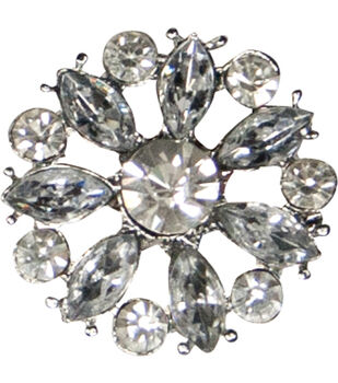 Laliberi Winter Knit Small Snowflake  Accent Brooch