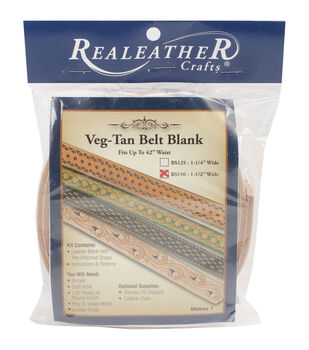 "Leather Belt Blank, 1.5"""