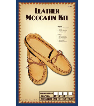 Moccasin Kit, Size 6/7, Small, Pair