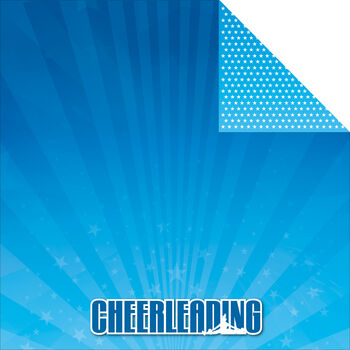 Reminisce Signature Series Cheerleading Double-Sided Cardstock 12''x12''
