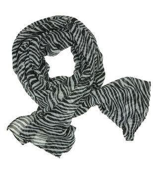 Laliberi Ready To Wear Scarf in Zebra Print