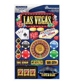 Reminisce Signature Dimensional Stickers Las Vegas
