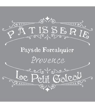 Decoart French Bakery - American Decor Stencil