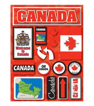 Reminisce Dimensional Stickers-Canada