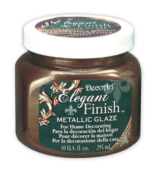 10 oz Elegant Finish Metallic Glaze Renaissance Brown