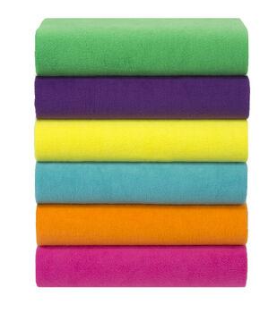 Anti Pill Fleece Fabric Solids