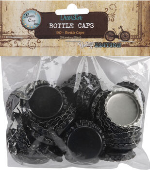 "Vintage Collection Standard Bottle Caps 1"" 50/Pk"