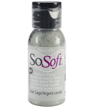 DecoArt SoSoft Fabric Acrylic Paint 1.15 fl.oz