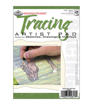 "Royal Brush Essentials Tracing Paper Pad 5""X7""-24 Sheets"