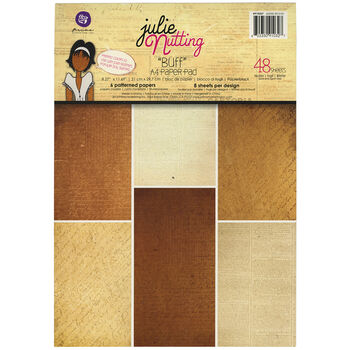 Prima Marketing Julie Nutting Buff Single-Sided Paper Pad
