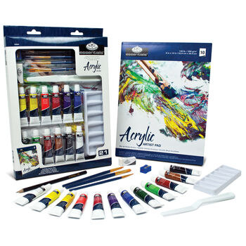 Royal Langnickel Essentials Art Set Acrylic Painting