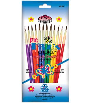 Bk Arts Crafts 12 Pc Brush Set