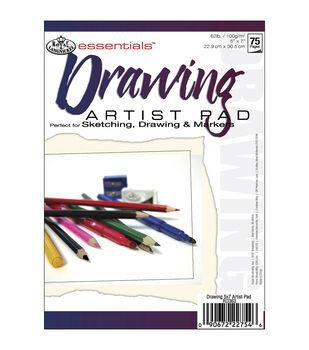 """Essentials Drawing Paper Pad 5""""X7"""""""