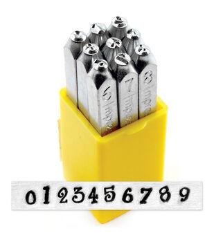 Number Stamp Set 4mm-Jeanie