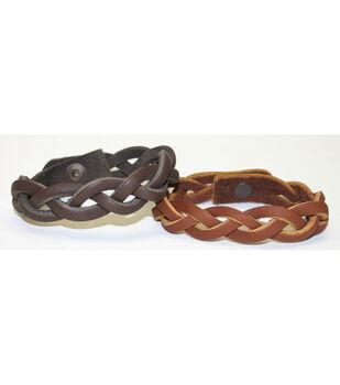 Silver Creek Mystery Braid Bracelet 2/Pkg