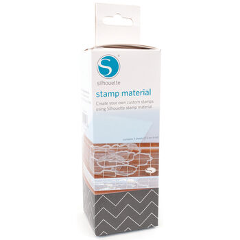 "Silhouette Stamp Material 6""X7.5"" 3/Pkg-"