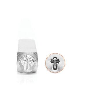 Design Stamps 1/Pkg-Cross Outline 6mm