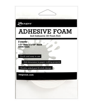 Adhesive Foam Roll