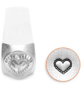 ImpressArt Lace Heart Design Stamps