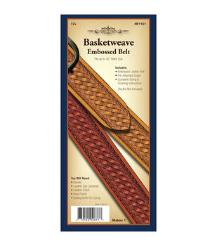 Realeather Crafts- Basketweave Belt-Basketweave Belt