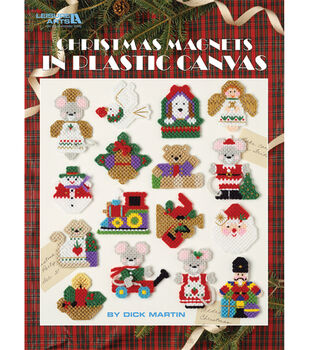 Leisure Arts Christmas Magnets
