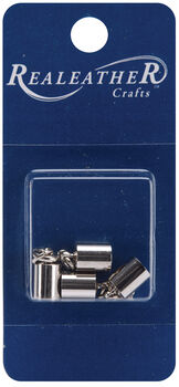 SILVER -END CAP & CLASP 5MM