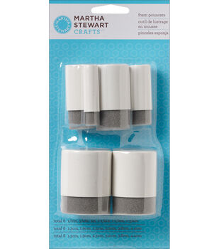 Martha Stewart Foam Pouncers 6 Pieces/Pk