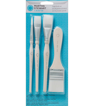 Martha Stewart Large Brush Set 4/Pk