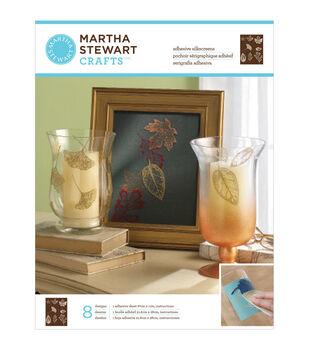 Martha Stewart Crafts Glass Silkscreen Leaves