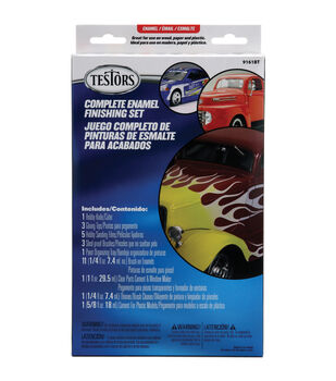 Testors Gloss Enamel Finishing Set-