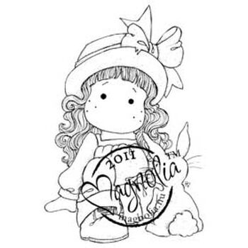 Magnolia Butterfly Dreams Cling Stamp Tilda And Her Bunny