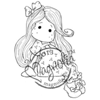 Magnolia 2013 Once Upon A Time Cling Stamp Princess Pea Tilda
