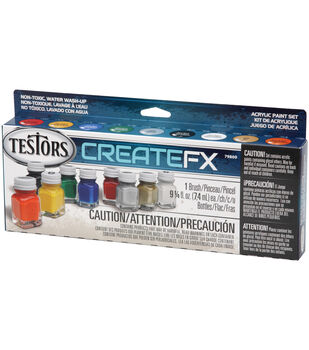 CreateFX Acrylic Paint Set-Assorted