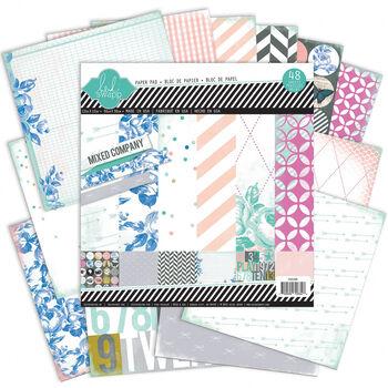 Heidi Swapp Mixed Company Paper Pad 12'' x 12''