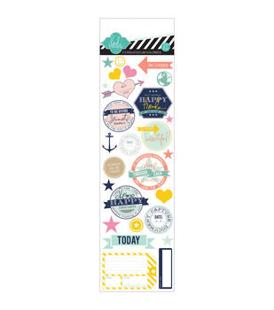 """Hello Today Clear Stickers 3""""X9.5"""""""