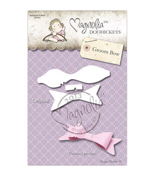 Magnolia Lost & Found DooHickeys Dies-Groom Bow