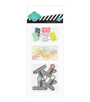 American Crafts September Skies Attachment Clips