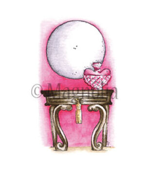 Magnolia Lost & Found Tilda With Dressing Table Cling Stamp